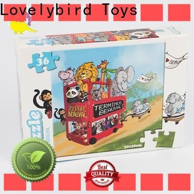 Lovelybird Toys latest cartoon jigsaw puzzles toy for party