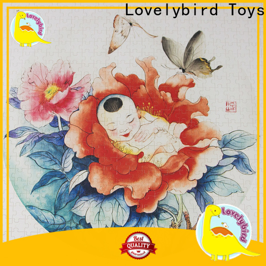 Lovelybird Toys new disney wooden puzzles with poster for sale