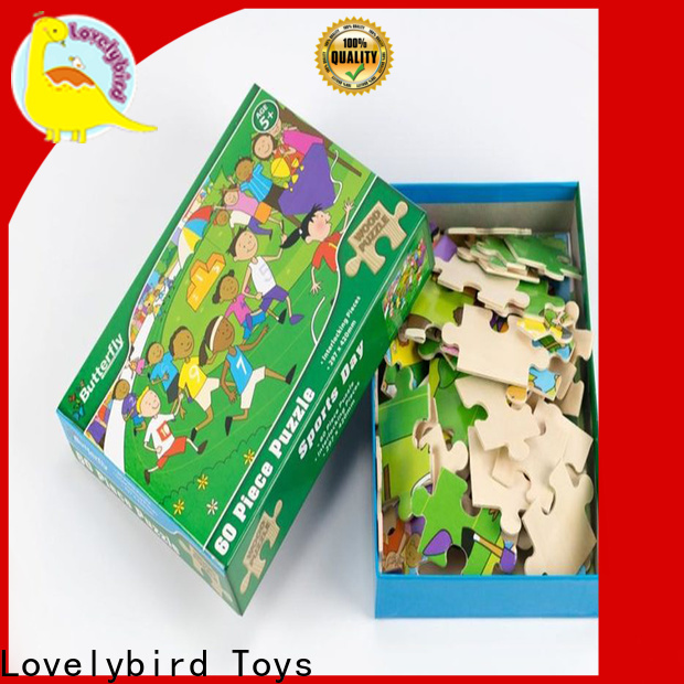 hot sale wooden puzzles for adults with poster for activities