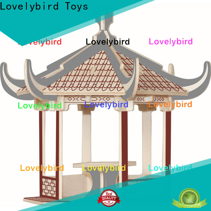 Lovelybird Toys hot sale 3d building puzzle supply for adults