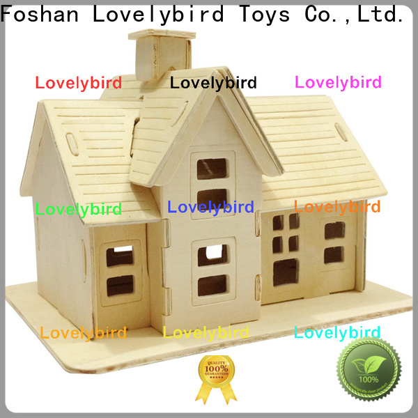 Lovelybird Toys latest 3d wooden puzzle house company for business