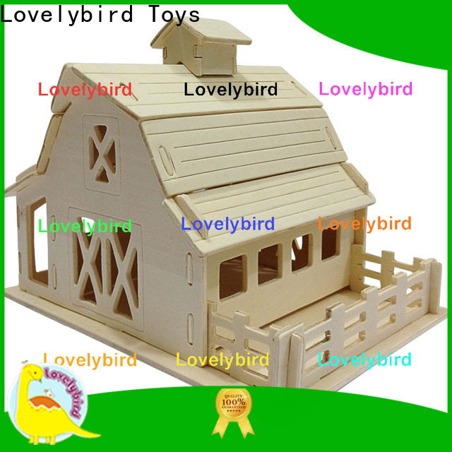 latest 3d wooden house puzzles suppliers for sale