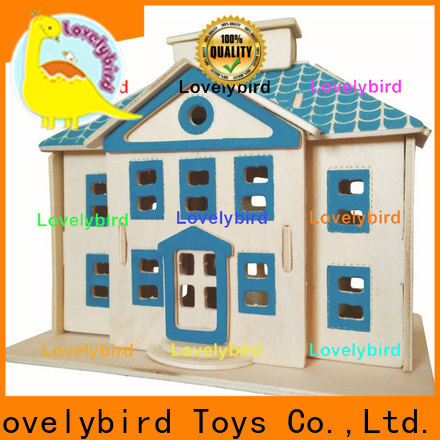 Lovelybird Toys high-quality 3d wooden puzzle house manufacturers for sale