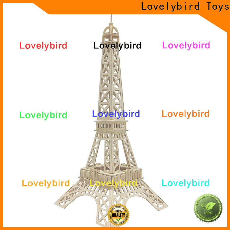 Lovelybird Toys 3d building puzzle manufacturers for present