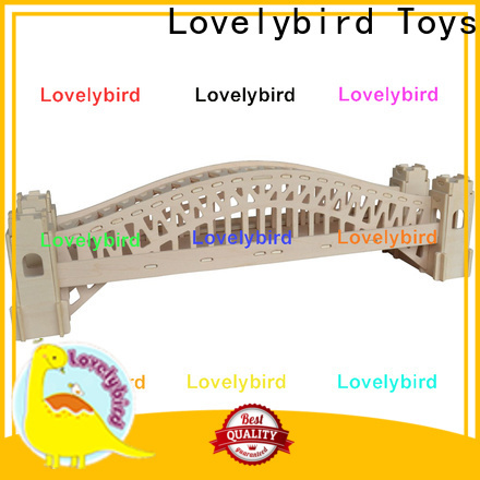 Lovelybird Toys top 3d building puzzle factory for kids