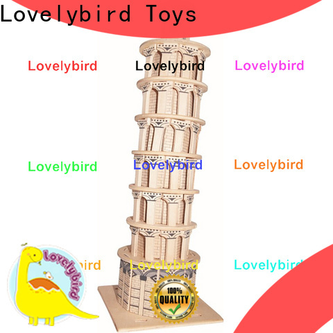 Lovelybird Toys 3d building puzzle suppliers for business