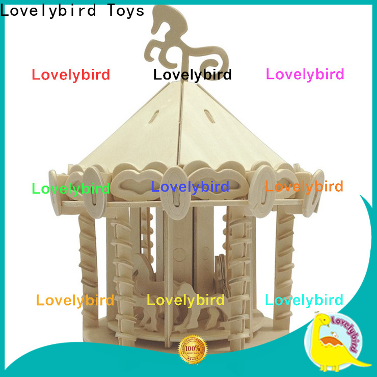 Lovelybird Toys latest 3d wooden house puzzles company for business