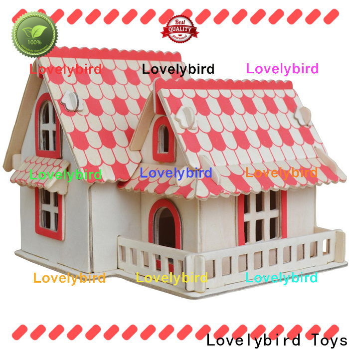 Lovelybird Toys best 3d building puzzle supply for sale