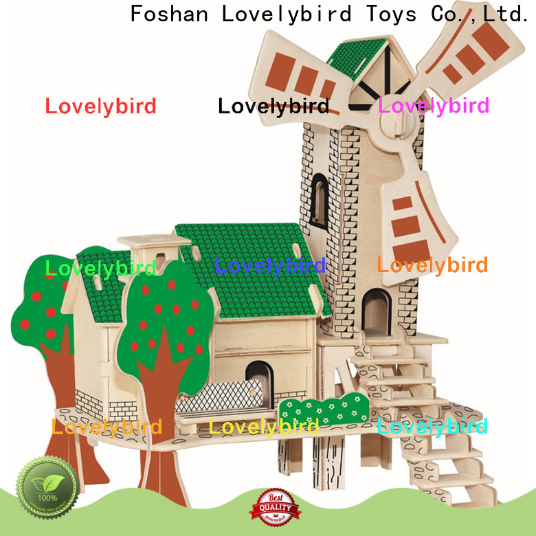 good selling 3d building puzzle manufacturers for kids