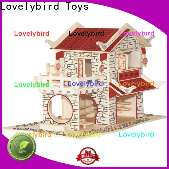 custom 3d building puzzle supply for kids