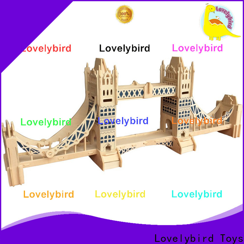 good selling 3d building puzzle supply for sale