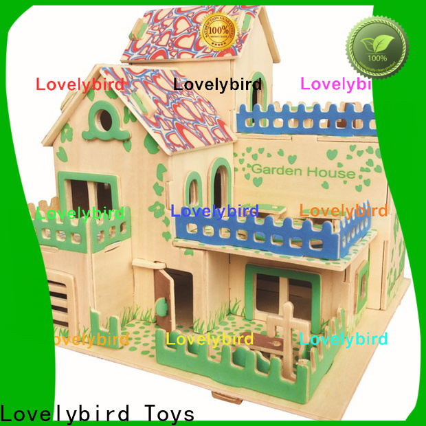 Lovelybird Toys high-quality 3d building puzzle supply for present