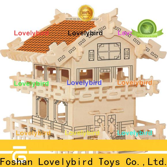 hot sale 3d building puzzle suppliers for sale