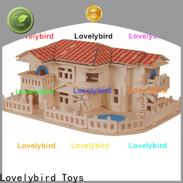 Lovelybird Toys latest 3d wooden house puzzles company for sale