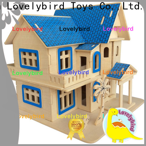 Lovelybird Toys top 3d wooden puzzle house supply for present