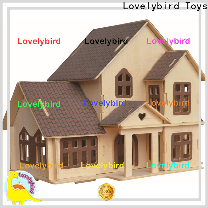 Lovelybird Toys best 3d wooden puzzle house suppliers for adults