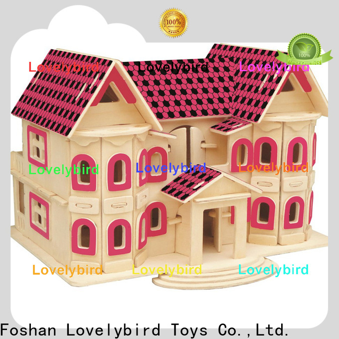 Lovelybird Toys best 3d wooden puzzle house company for business