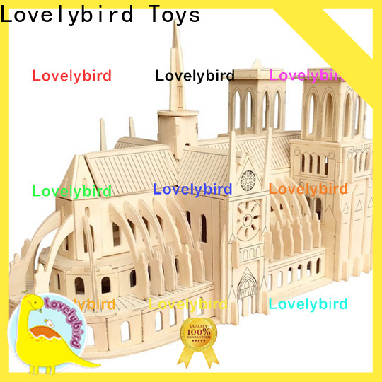 good selling 3d building puzzle supply for kids