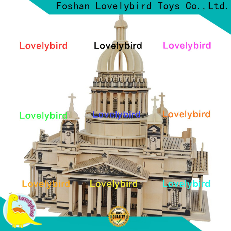Lovelybird Toys top 3d wooden puzzle house company for present