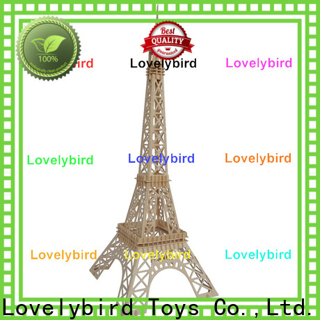 Lovelybird Toys good selling 3d wooden house puzzles factory for business
