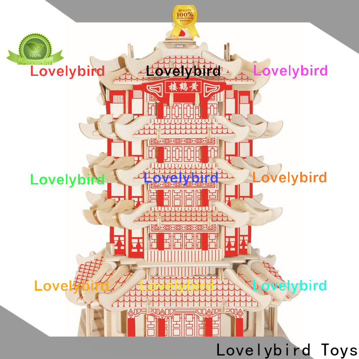 Lovelybird Toys 3d building puzzle company for adults