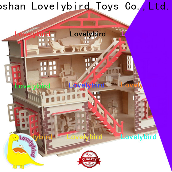 best 3d wooden house puzzles supply for present