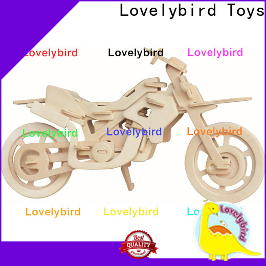 Lovelybird Toys best 3d wooden puzzle car manufacturers for kids