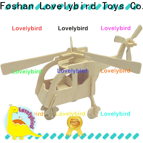 custom 3d wooden car puzzle company for entertainment