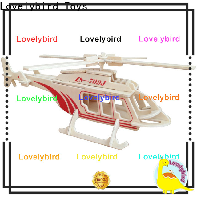 Lovelybird Toys wholesale 3d airplane puzzle suppliers for business