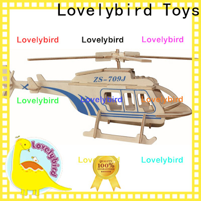Lovelybird Toys 3d wooden car puzzle company for entertainment