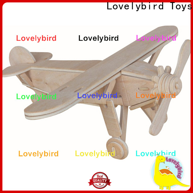 new 3d wooden car puzzle manufacturers for sale