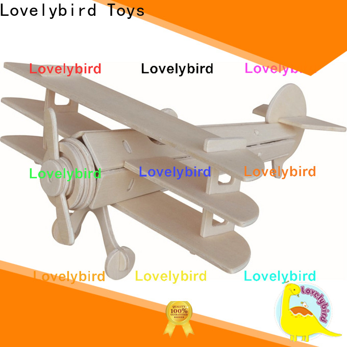Lovelybird Toys latest 3d wooden puzzle car suppliers for entertainment