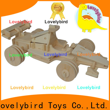 new 3d wooden puzzle car supply for adults
