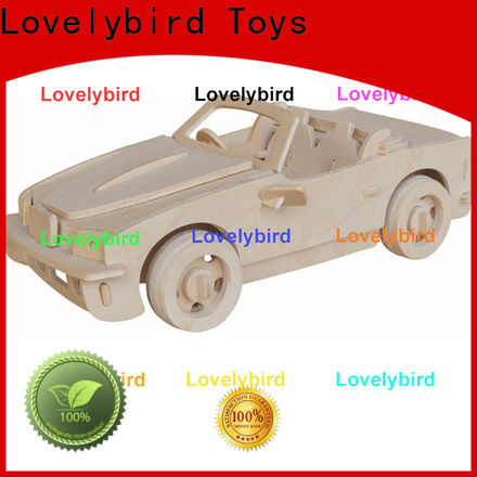 Lovelybird Toys latest 3d wooden car puzzle factory for adults