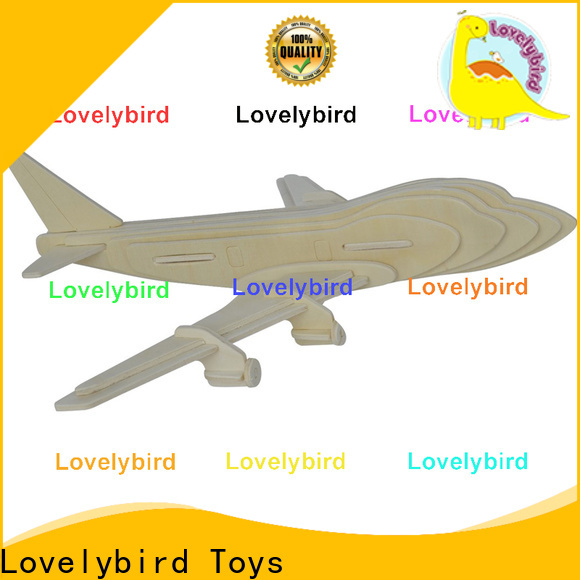 Lovelybird Toys latest 3d wooden puzzle car factory for kids