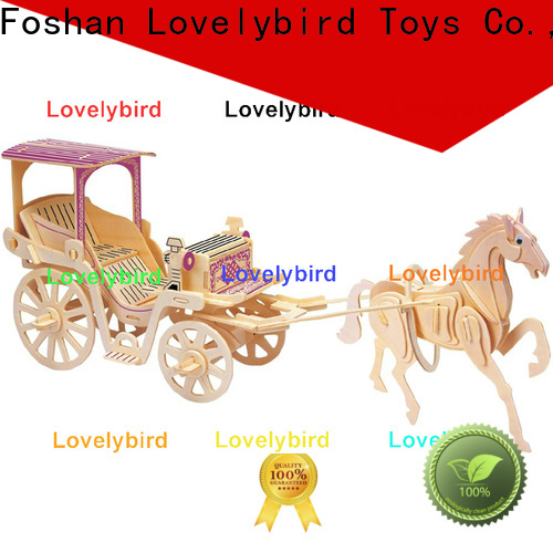 Lovelybird Toys custom 3d airplane puzzle manufacturers for sale