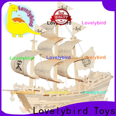 custom 3d airplane puzzle manufacturers for sale