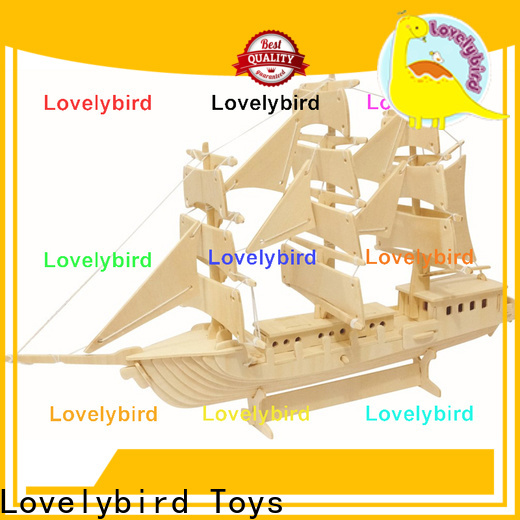 new 3d wooden puzzle car suppliers for sale