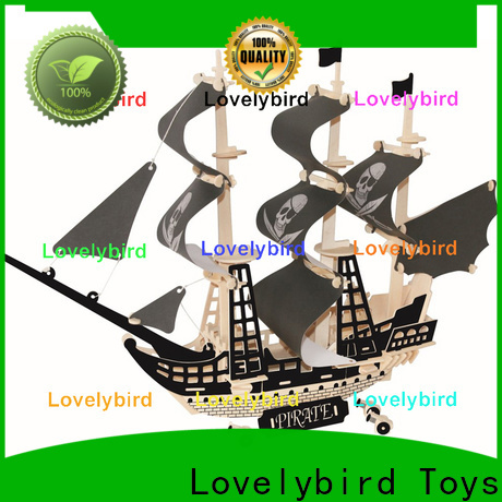 Lovelybird Toys 3d wooden puzzle car company for adults