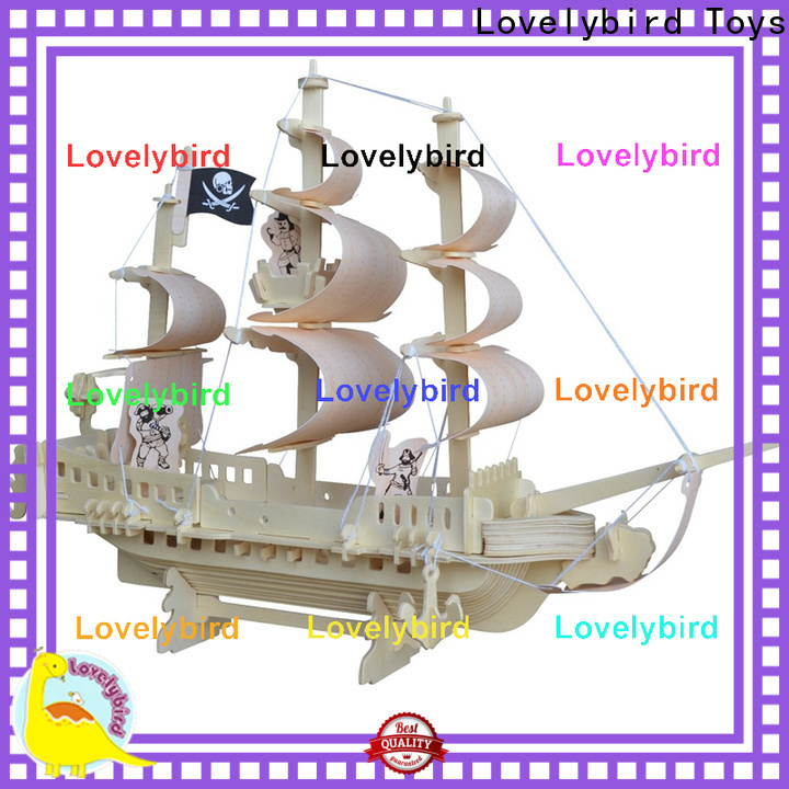 latest 3d wooden puzzle ship suppliers for entertainment
