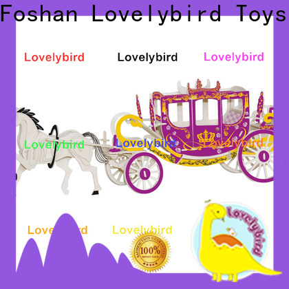 Lovelybird Toys new 3d wooden puzzle car manufacturers for present