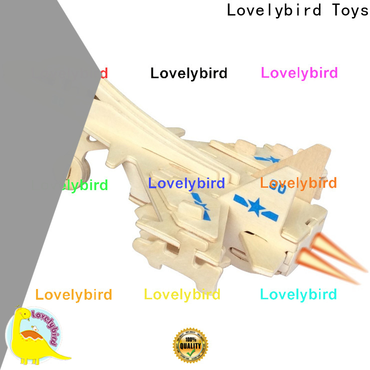 Lovelybird Toys new 3d puzzle military supply for present