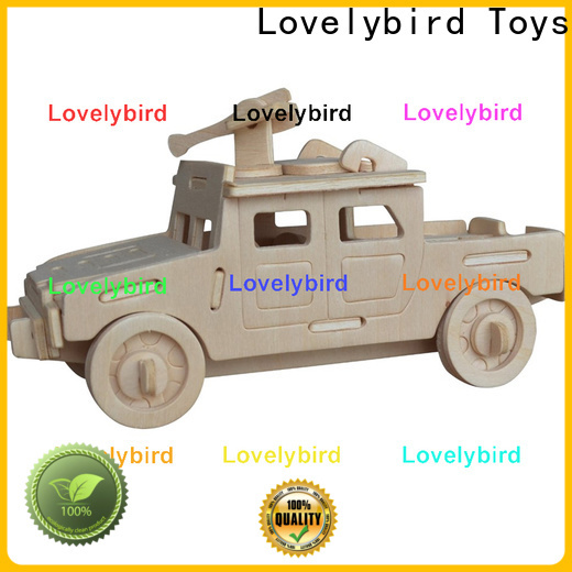 Lovelybird Toys 3d puzzle military suppliers for business