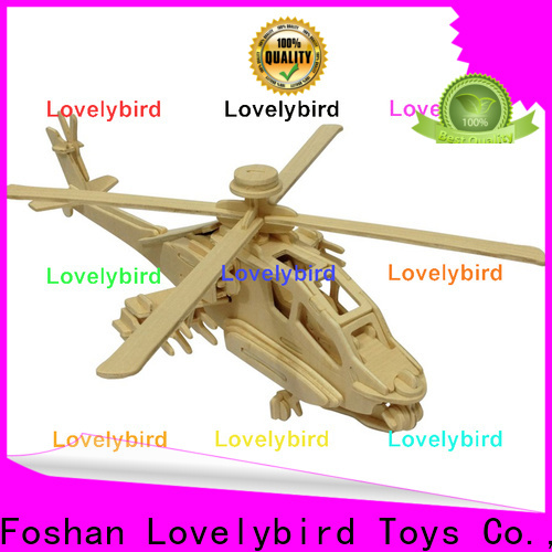 Lovelybird Toys high-quality 3d puzzle military company for adults