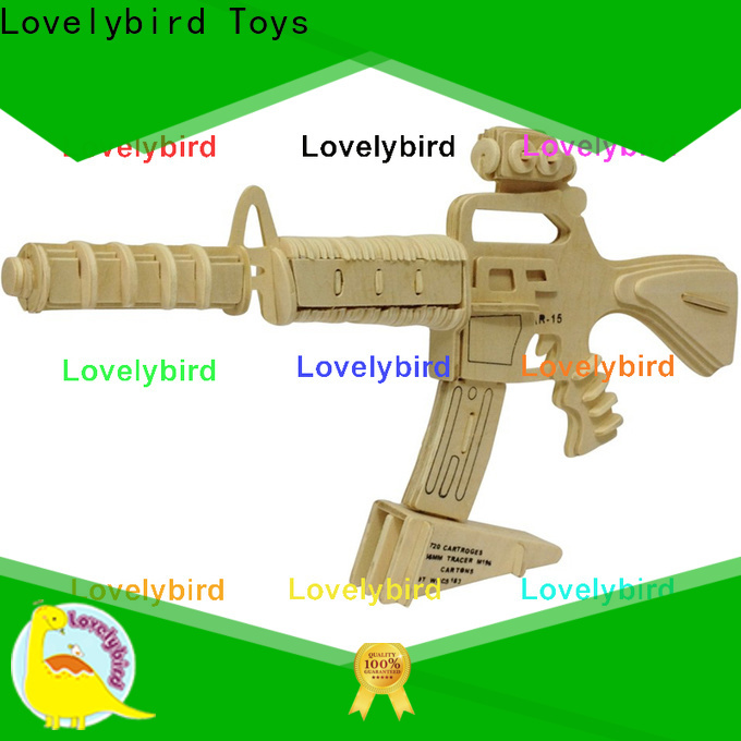 Lovelybird Toys latest 3d puzzle military factory for kids