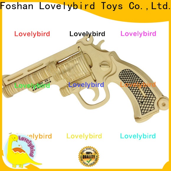 Lovelybird Toys custom 3d puzzle military supply for business