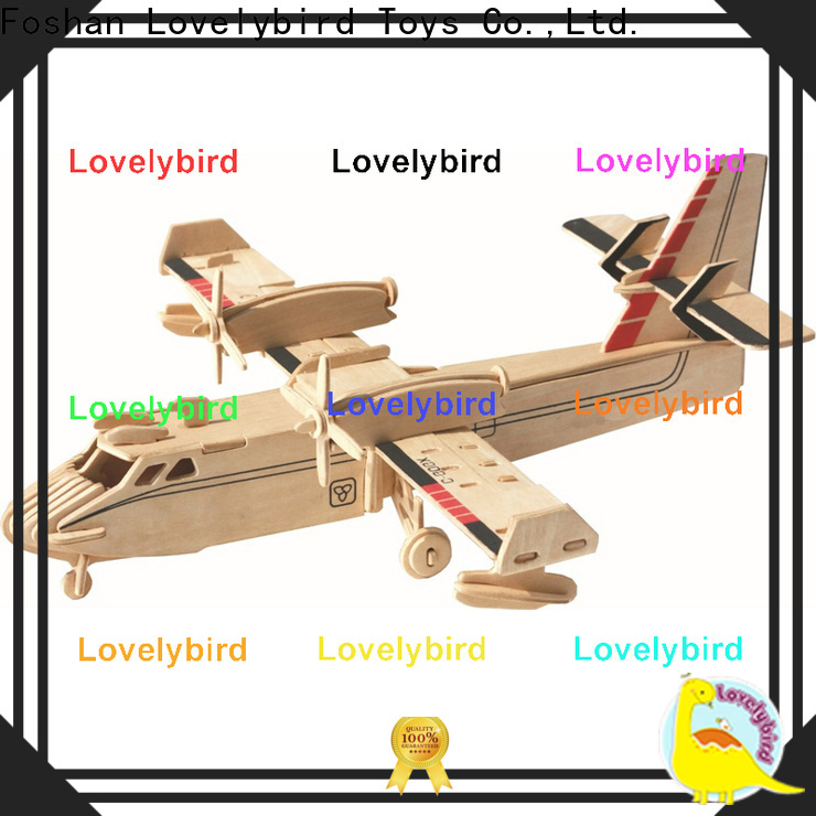 Lovelybird Toys 3d puzzle military company for kids