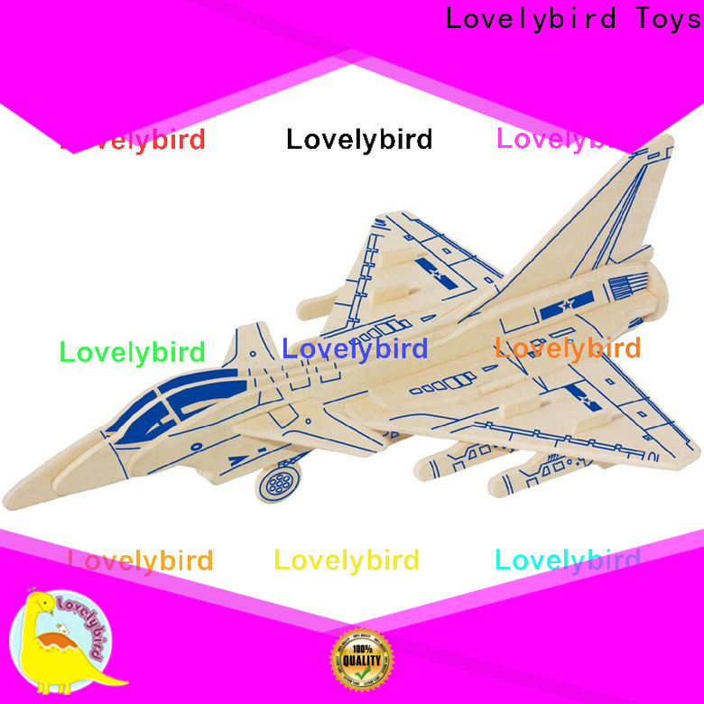 Lovelybird Toys superior quality 3d puzzle military manufacturers for present