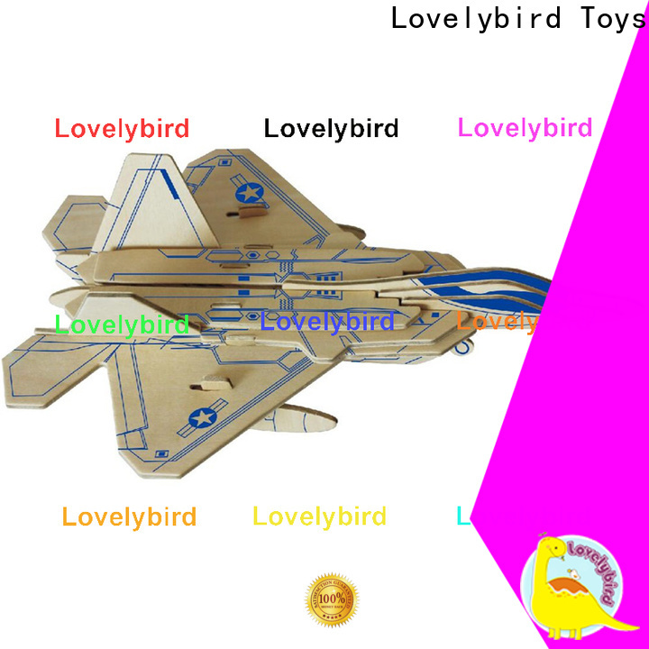 Lovelybird Toys 3d puzzle military factory for sale