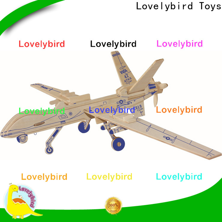 Lovelybird Toys new 3d puzzle military manufacturers for present